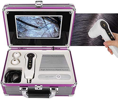 LBXKE Détecteur de Cheveux de Peau, Appareil-Photo 200MP d'analyseur de Peau de détecteur de Cuir chevelu de détecteur de Cuir chevelu de détecteur de Cuir chevelu 50X 200X pour Les