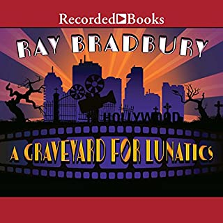 A Graveyard for Lunatics audiobook cover art