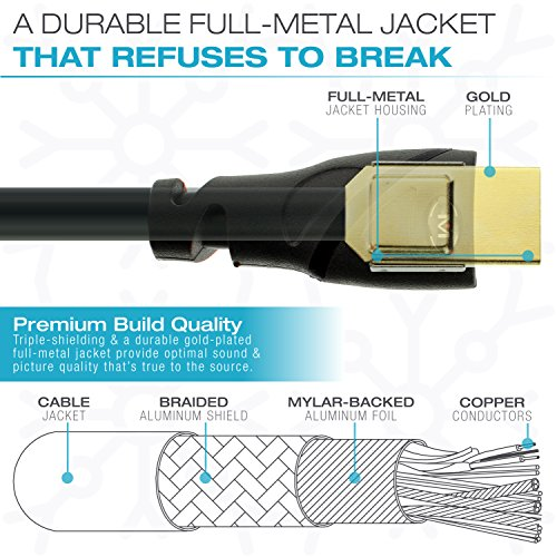 Mediabridge 91-02X-35B Ultra Series HDMI Cable - 35-Feet