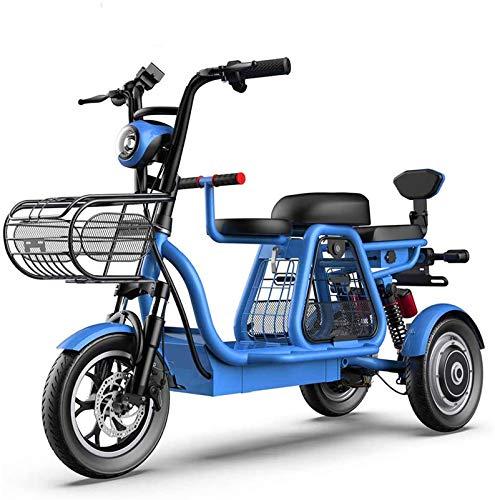 Bicicletas Eléctricas, 3 Rueda de bicicleta eléctrica de montaña adulto Vespa 48V...