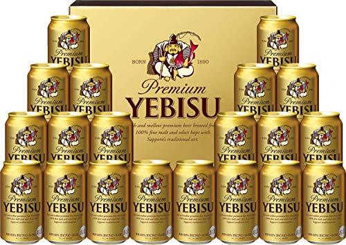 【中元/ビール】サッポロ ヱビスビール ギフトボックス入り YE5DT [ 350ml×20本 ]