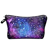 Makeup Pouch Cosmetic Bag and Toiletry Bag For Accessories Galaxy Travel Bag