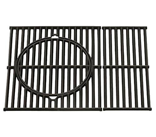 Dehner Grillrost für Lancaster 300, ca. 50 x 44.5 x 5 cm, Gusseisen, schwarz