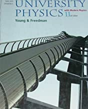 Sears and Zemansky's University Physics With Modern Physics 11th (eleventh) Edition by Young, Hugh D.; Freedman, Roger A.; Ford, A. Lewis; Sears, F [2004]