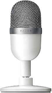 Razer Seiren Mini - USB Condenser Microphone for Streaming (Compact with Supercardioid Polar Pattern, Tiltable Stand, Inte...