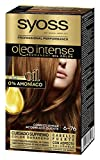 Syoss Oleo Intense Coloración Permanente Sin Amoníaco - Tono 6.76 Cobrizo Ámbar
