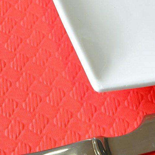 Chiner - Rollo Mantel Papel 1 x 100 metros (Rojo)