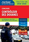 Concours Contrôleur des douanes - Tout-en-un - 2019/2020