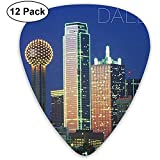 Selecciones de guitarra coloridas de Dallas adecuadas para guitarra acústica Bajo de guitarra eléctrica