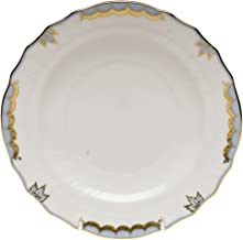 Herend China Princess Victoria Light Blue Salad Plate