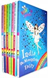 Rainbow Magic Jewel Fairies Collection 7 Books Pack Set (Series 22 to 28) RRP £27.93 (India the Moonstone Fairy, Scarlett the Garnet Fairy, Emily the Emerald Fairy, Chloe the Topaz Fairy, Amy the Amethyst Fairy, Sophie the Sapphire,Lucy the Diamond) (Rainbow Magic Jewel Fairies)