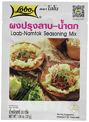 Lobo Würzpaste Laab Namtok, 12er Pack (12 x 30 g)