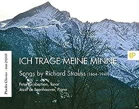 Strauss: Ich Trage Meine Minne - Songs By Richard Strauss