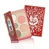 Snow Bright Contour Highlight Blush Makeup Palette - Smooth and Pigmented - Easy to Blend and Use - Vegan and Cruelty Free - 5 Part Pressed Powder Makeup Kit - With Mirror For All Skin Types
