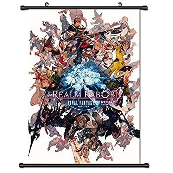 final fantasy Poster final fantasy xiv Fabric Wall Scroll Poster  17x25  Inches