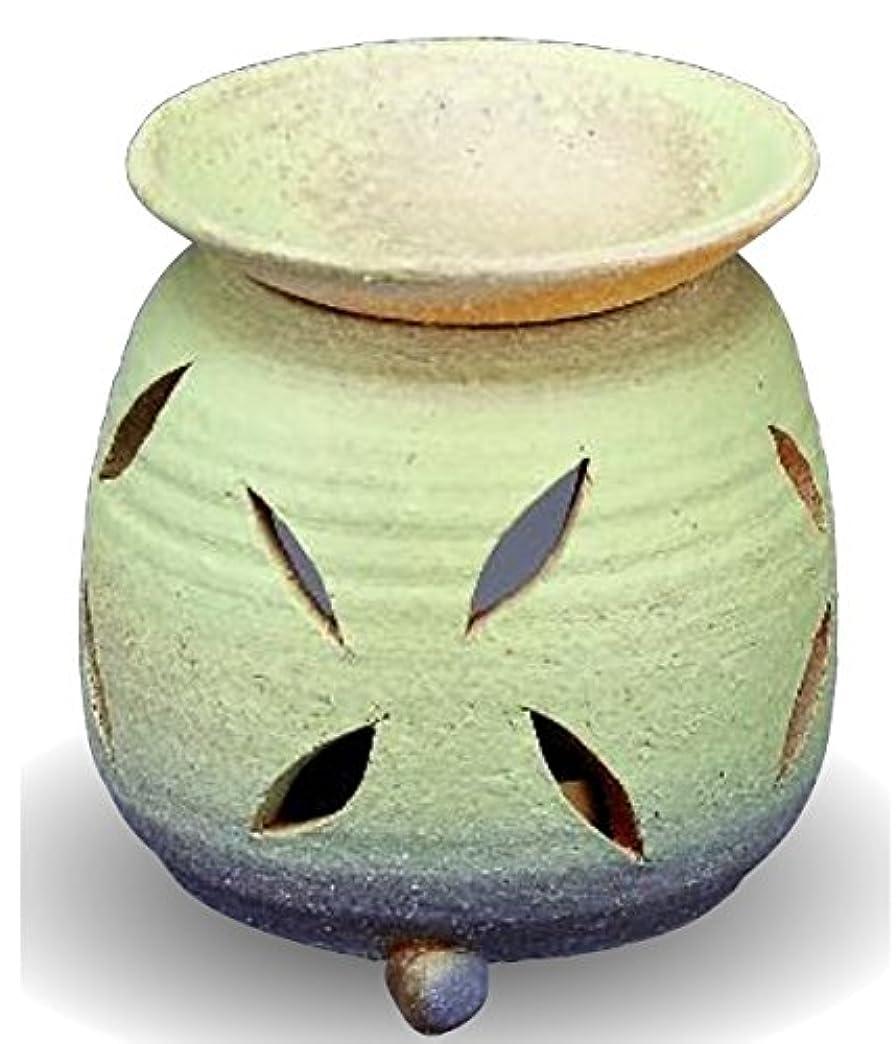 登場自分自身治療常滑焼 茶香炉(アロマポット)径10×高さ11.5cm
