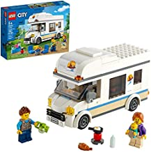LEGO City Holiday Camper Van 60283 Building Kit; Cool Vacation Toy for Kids, New 2021 (190 Pieces)