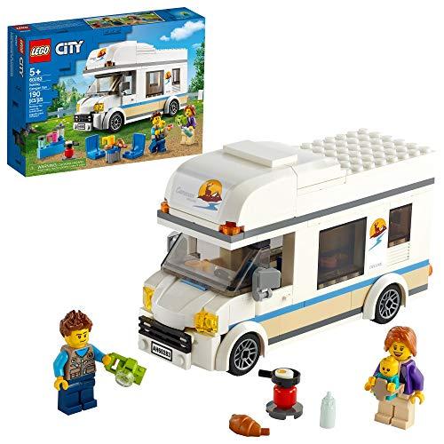 LEGO City Holiday Camper Van 60283 Bausatz; cooles Urlaubsspielzeug für Kinder, New 2021 (190 Teile)