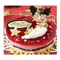 クリスマスケーキ『木苺ショコラ』 5号 15cm 甘酸っぱい木苺となめらかなホワイトチョコの味わいが絶妙です 【12/25お届け予定】※25日着は遅延了承の上。クリスマスケーキ 予約 苺 チョコレートケーキ ムースケーキ ※数量限定品によりキャンセル不可