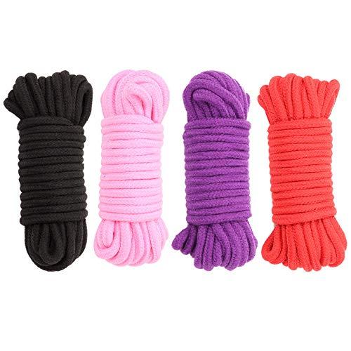 Doc Mao 32 pies 10 m de Cuerda de algodón Suave, Cuerda de algodón...