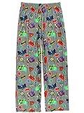 LEGO DC Super Heroes Kids Flannel Lounge Pajama Pants (10-12, Gray)