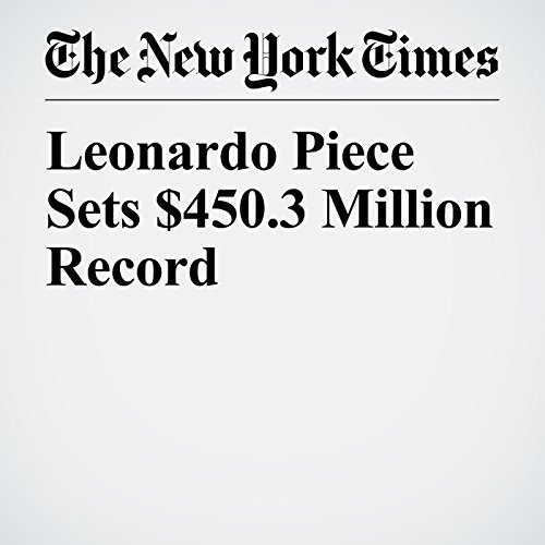 Leonardo Piece Sets $450.3 Million Record copertina