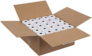"""$64 » 3 - 1/8"""" (80mm) X 230' (2.75""""dia.) 15% MORE PAPER (50 ROLLS) Cash Register Thermal Paper BPA Free MADE IN USA From BuyRegisterRolls"""
