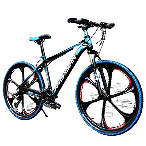 New AHAVINTAGE.COM 24 Inch/26 Inch High Carbon Steel Hard Tail Mountain Bike, Hybrid Bike with Adjus...