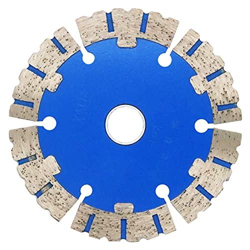 Muela de copa Diamante, 114mm Disco Diamantado amoladora para ladrillos de piedra natural de granito de hormigón armado, 114×20×2mm
