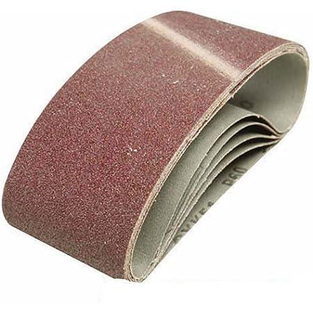 Wolfcraft 1894000 76 x 457mm Sanding Belts 80-Grit