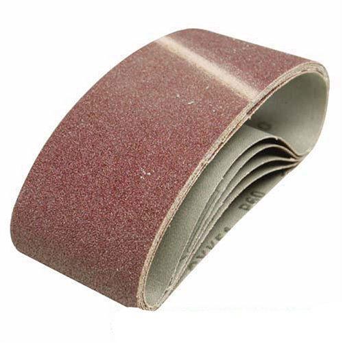 Silverline 901495 - Bandas de lija 75 x 457 mm, 5 pzas Grano 120