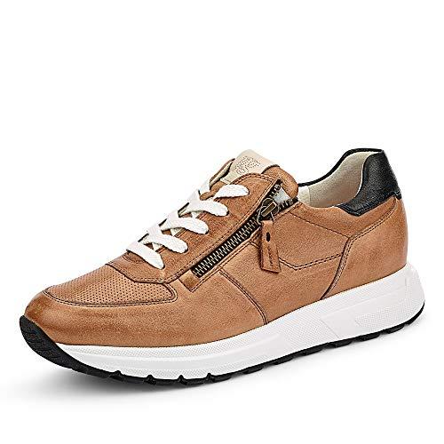Paul Green Schnürschuhe Sneaker braun 37½