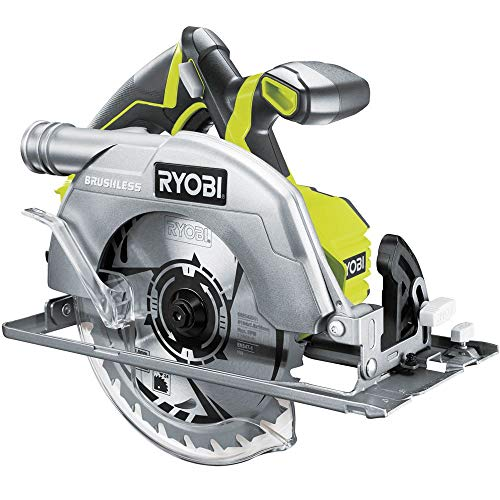 Scie circulaire Brushless Ryobi 18V Oneplus 60mm - sans Batterie Ni Chargeur R18CS7-0 Norme