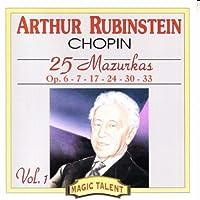 Chopin;25 Mazurkas Vol.1