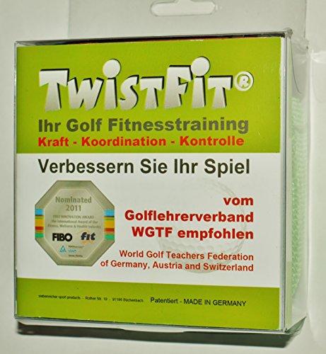 TwistFit Golf Fitnesstraining - Verbessern Sie Ihr Spiel (ROT)