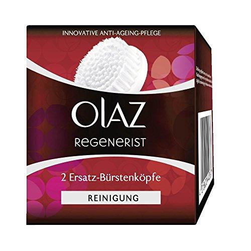 Olaz Regenerist 2 Ersatz-Bürstenköpfe für das 3 Zonen Reinigungssystem