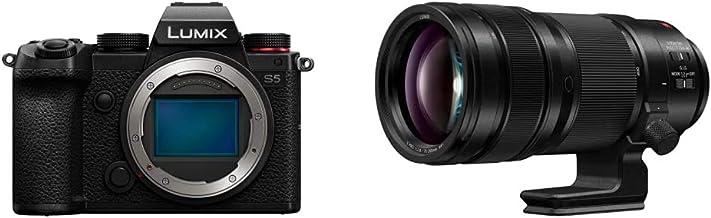 Panasonic LUMIX S5 Full Frame Mirrorless Camera (DC-S5BODY) and LUMIX S PRO 70-200mm F2.8 Telephoto Lens (S-E70200)