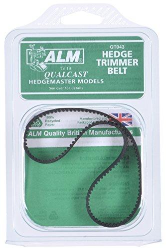 Belt: Hedge Trimmer Qualcast Hedgemaster hedgetrimmer drive belt Alm: QUALCAST Hedgemaster 380/390 Plus, 420, 430 Plus, 470, 480 Plus,Atco Hedgecutter 17/19