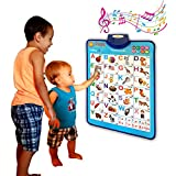 Just Smarty Electronic Interactive Alphabet Wall Chart, Talking ABC & 123s & Music Poster, Best...