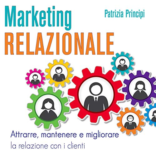 Marketing relazionale audiobook cover art