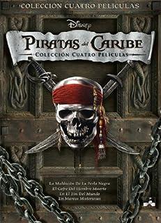 Piratas Del Caribe: Colección Cuatro Películas [DVD]