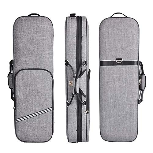 ADM 4/4 Full Size Violin Case Oblong Violin Hard Case