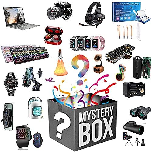 TAOYAO Mystery Box Electronic Lucky boxen, 5 stuks, kosteneffectief, willekeurig, uitstekende prijs-kwaliteitverhouding, geef jezelf een verrassing of als cadeau aan anderen