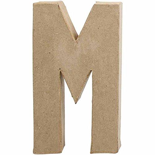 Creativ 20.5 cm 1-Piece Papier Mache Letter M