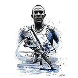 Tiiiytu Feld Ereignisse Spieler Poster Jesse Owens