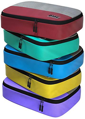 Dot&Dot cubos de embalaje de tamaño mediano para viajes, 4 piezas organizadores de accesorios de equipaje