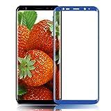 Pellicola Protettiva Galaxy S8 Plus, innislink Vetro Temperato Galaxy S8 Plus HD Trasparente 9H Durezza 3D Touch Anti-graffio Pellicola Protezione Screen Protector per Samsung Galaxy S8 Plus - Blu