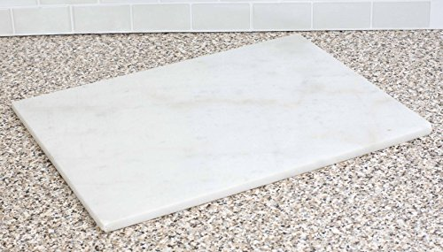 Home Basics 12' x 16' Marble, White Cutting Board, One Size