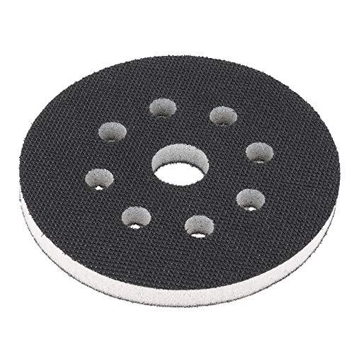 Softauflage 125mm 8-Loch aus Schaum (weich), Interface-Pad soft, Buffer Pad für Schleifteller/Polierteller und Klett-Schleifpapier - DFS