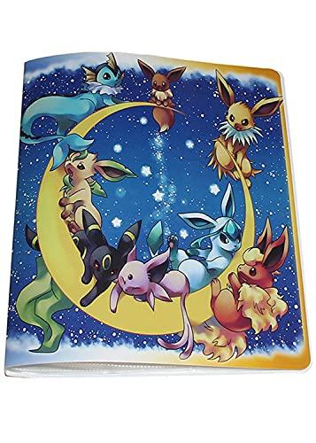 Álbum compatible con Cartas Pokemon GX EX MEGA, Aglutinante compatible con Cartas Pokemon, Carpeta de soporte de álbum de tarjetas coleccionables, Puede contener 324 tarjetas (324-Elf)